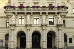 Старое европейское здание Стоковые Изображения RF
