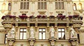 Старое европейское здание Стоковая Фотография RF
