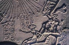 Старое египетское сочинительство, похожая на чужеземец диаграмма стоковые фотографии rf