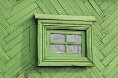 Старое деревенское масло покрасило деревянную стену баров с малым Стоковое фото RF