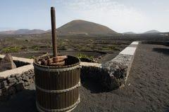 Старое деревенское оборудование для того чтобы произвести вино Стоковые Изображения