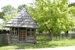 Старое деревянное распятие Стоковое Фото