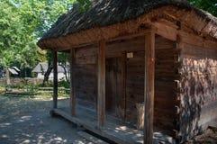 Старое деревянное складское здание от Украины Стоковая Фотография RF