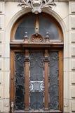 Старое деревянное сдобренное окно Стоковое Фото