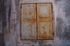 Старое закрытое окно Стоковые Фотографии RF
