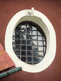 Старое запертое окно Стоковая Фотография