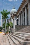 Старое здание Верховного Суда, Сингапур стоковые фото