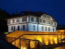 Старое здание в Белграде Сербии Стоковые Фото