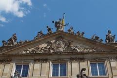 Старое здание в Германии стоковые изображения