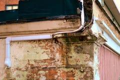 Старое здание в центр города Тампере, Финляндии стоковая фотография rf