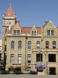 Старое здание муниципалитет в Калгари, Alberta стоковое изображение
