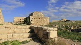 Старое здание на историческом старом городке Rethymno Крит Греция Стоковые Фото