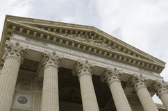 Старое здание суда Стоковое фото RF