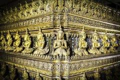 Старое золотое высекая искусство стоковые изображения rf