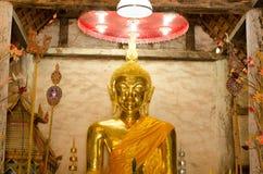 Старое золотое Buddhas стоковая фотография rf
