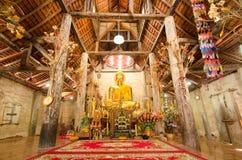 Старое золотое Buddhas стоковые фотографии rf