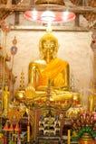 Старое золотое Buddhas стоковая фотография