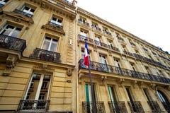 Дом в Париже Стоковая Фотография RF