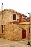 Старое здание в старой части Malia Стоковые Изображения
