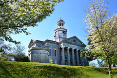Старое здание суда в Vicksburg, Миссиссипи Стоковое Фото