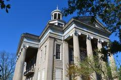 Старое здание суда в Vicksburg, Миссиссипи стоковые фото