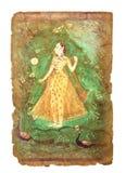 Старое индийское изображение стоковые изображения