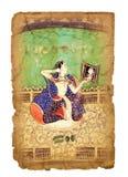 Старое индийское изображение стоковое изображение
