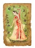 Старое индийское изображение стоковая фотография