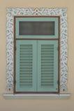Старое искусство окна китайского стиля Стоковое Фото