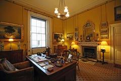 Старое исследование расположенное в доме Syon стоковая фотография