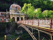 Старое историческое барочное здание - имперские ванны Herculane austiac стоковые фотографии rf