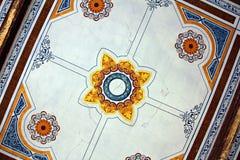 Старое историческое барочное получившееся отказ здание - казино Baile Herculane стоковая фотография