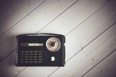 Старое итальянское радио года сбора винограда стиля Стоковая Фотография RF