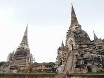 2 старое и большая пагода с ярким небом Стоковое Изображение RF