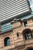 Старое и новое здание Стоковое фото RF