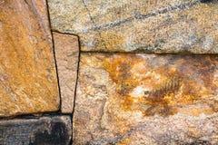 Старое каменное сооружение стены с совершенно блокировать s Стоковые Фото