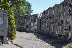 Старое католическое cementery от Испании Стоковые Фотографии RF