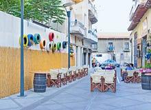 Старое кафе городка Стоковые Изображения RF
