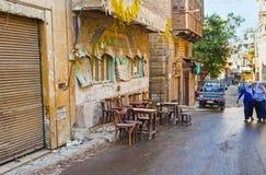 Старое кафе Стоковое Фото