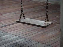 старое качание деревянное Стоковое фото RF