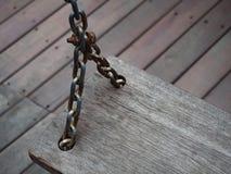 старое качание деревянное Стоковые Фотографии RF