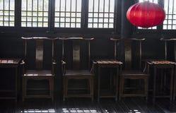 Старое китайское здание/династия тяни здание китайское стоковое изображение rf