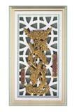 Старое китайское искусство окна Стоковые Изображения RF