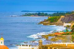 Старое кладбище на Сан-Хуане на Пуэрто-Рико Стоковое Изображение