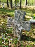 Старое кладбище Стоковая Фотография RF