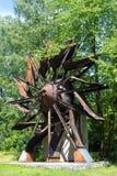 Старое колесо вентилятора colliery стоковое изображение rf