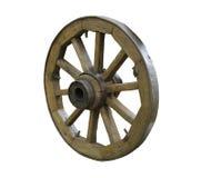 старое колесо деревянное Стоковая Фотография