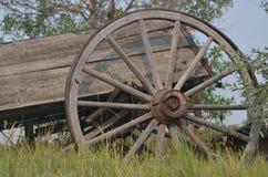 Старое колесо телеги 1 Стоковые Фотографии RF