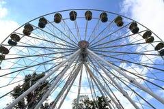 старое колесо carousel Стоковая Фотография RF