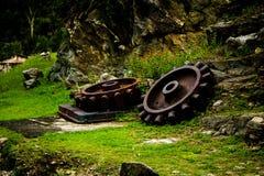 Старое коническое зубчатое колесо Стоковые Фотографии RF